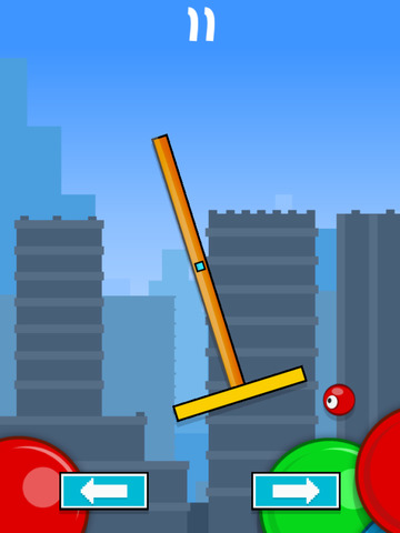 Flick & Swing vs Red Ball FREE screenshot 7