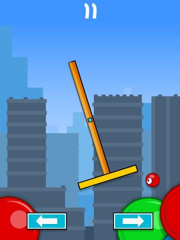Flick & Swing vs Red Ball FREE screenshot 7