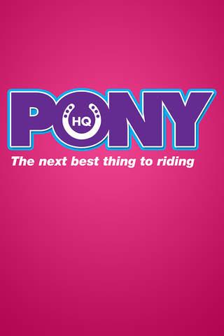 HQ Pony - náhled