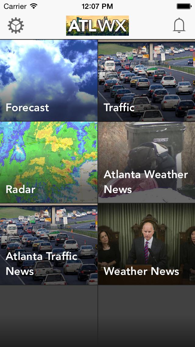 ATL wx: Atlanta Weather Forecast, Radar, Traffic | Apps