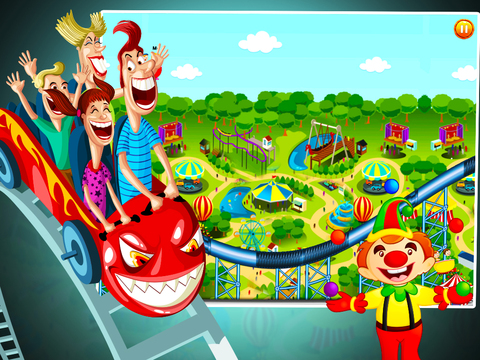 Roller Coaster - Extreme Roller Coaster Ride screenshot 8