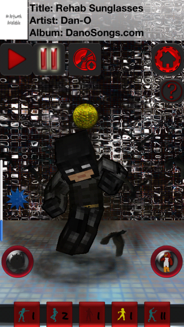 CraftDance 3D - Free Skins Dancing and Skin Viewer for Minecraft screenshot 1