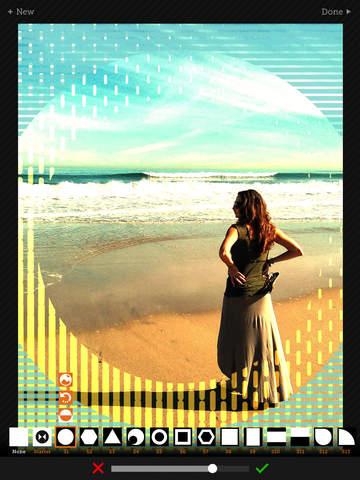 Tangent - Add Geometric Shape, Pattern, Texture, and Frame Overlays and Effects to Your Photos screenshot 6