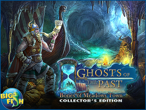 Ghosts of the Past: Bones of Meadows Town HD - A Supernatural Hidden Objects Game screenshot 5