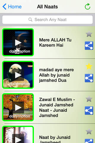 Video Naats Collection - Junaid Jamshed Naat - náhled