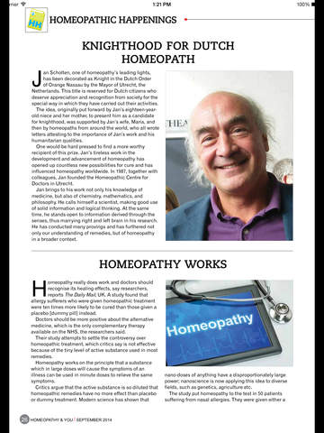 Homeopathy & You screenshot 9