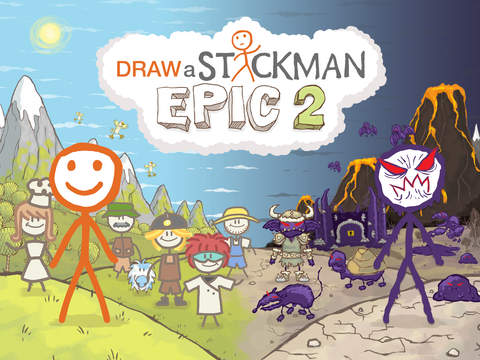 Draw a Stickman: EPIC 2 Pro screenshot 6