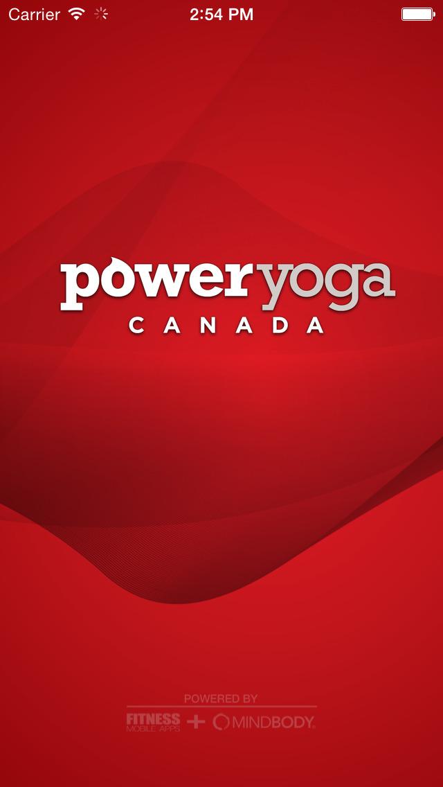 Power Yoga Canada screenshot #1