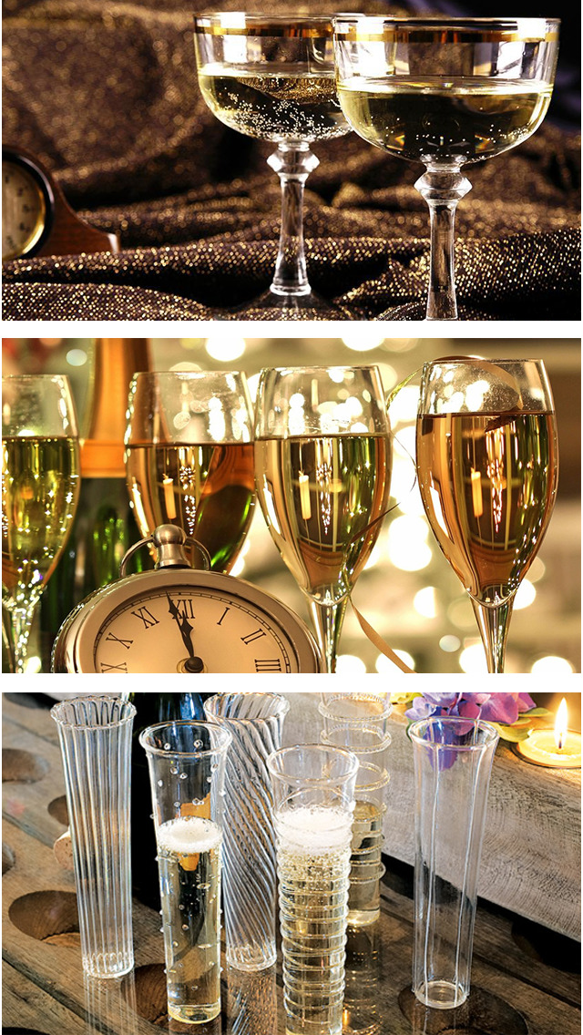 Champagne Glasses Design Ideas, Wine Glass Designs screenshot 2