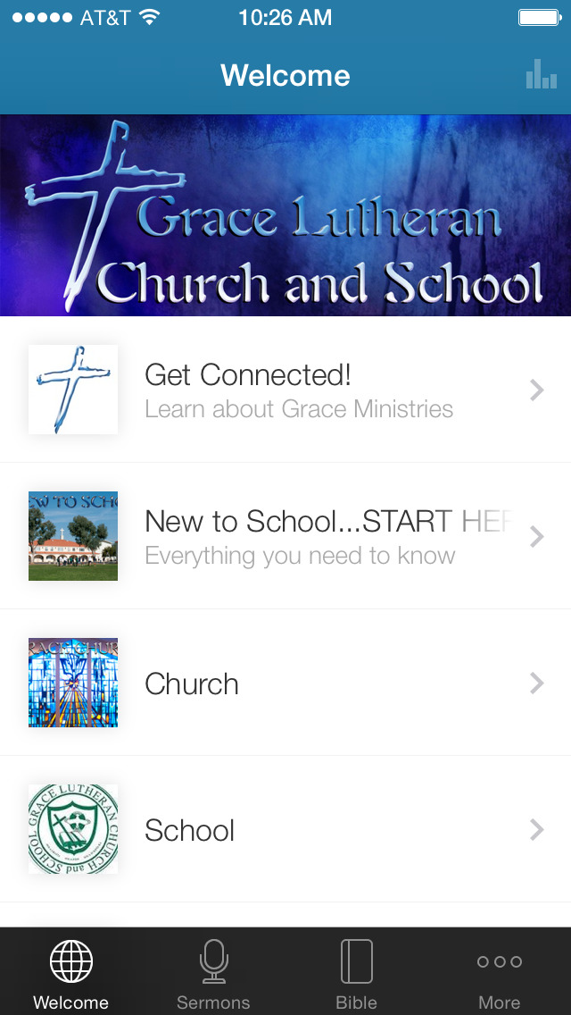 Grace Lutheran Escondido, CA screenshot 1