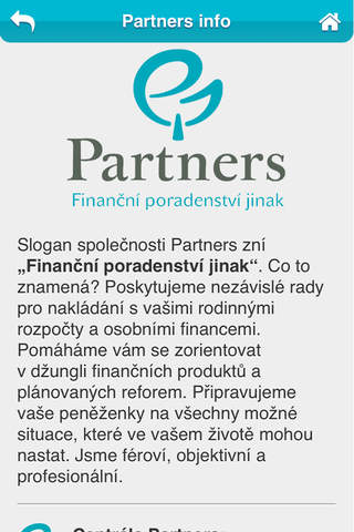 Partners Manager - náhled