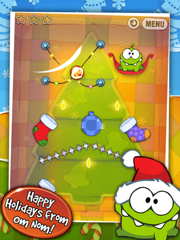 Cut the Rope: Holiday Gift screenshot #5