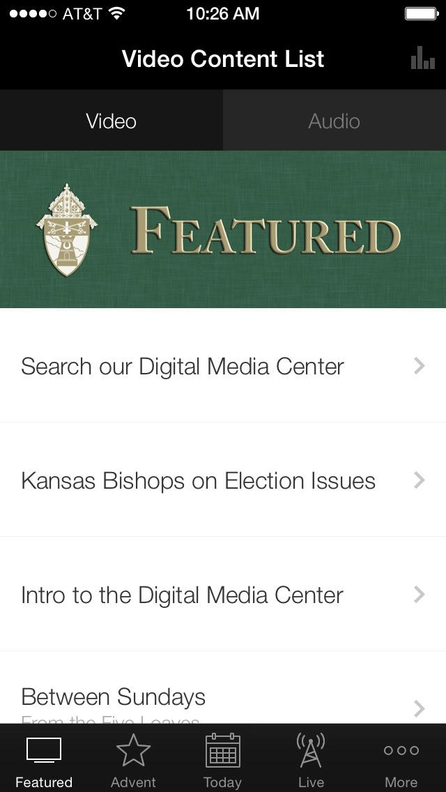 Catholic Media ArchKCK screenshot 3