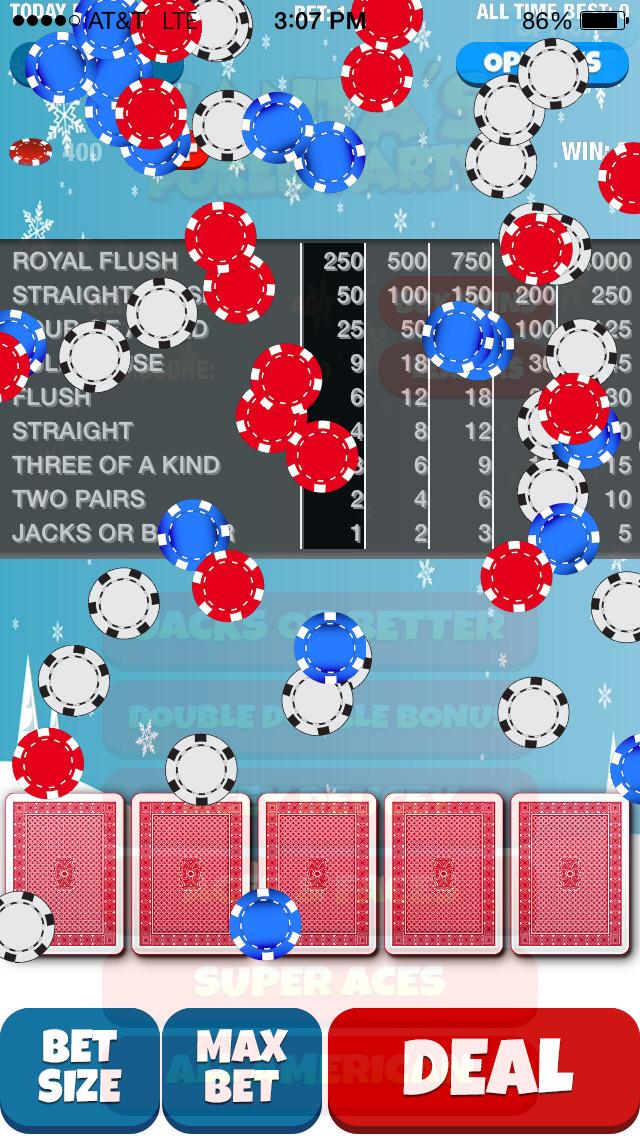Santa's Poker Party screenshot 1
