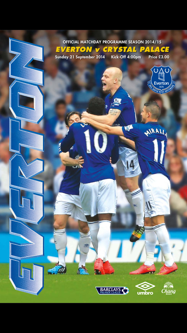 Everton Programmes screenshot 1