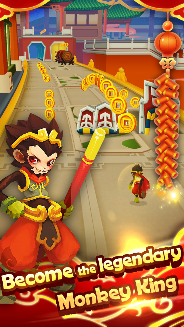 Monkey King Escape screenshot 2
