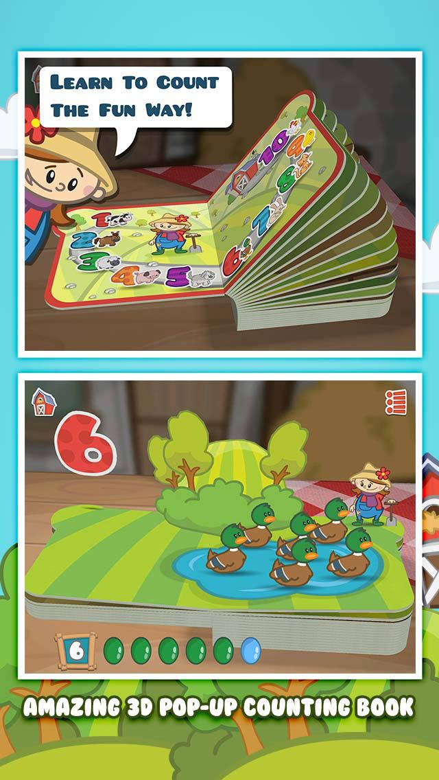 Farm 123 - Learn to count screenshot 1