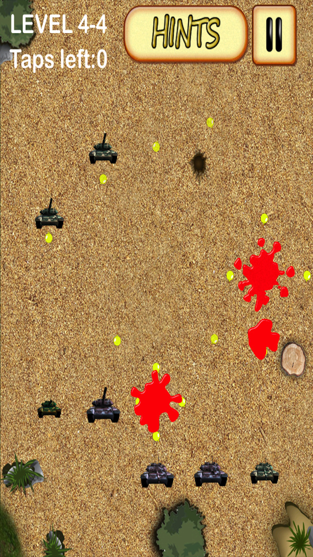 A Pro Full Version Strategy Puzzle Guns Tanks Cannons Solve It Game screenshot 3