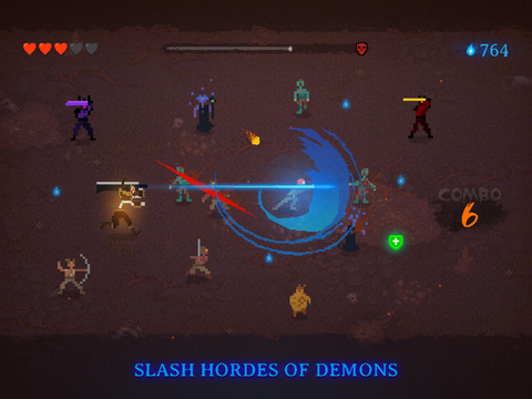 Dark Slash: Hero - Endless road to survival screenshot 6