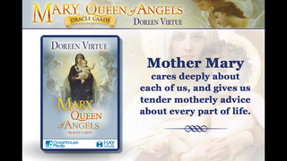 Mary, Queen of Angels Oracle Cards - Doreen Virtue, Ph.D. screenshot 1