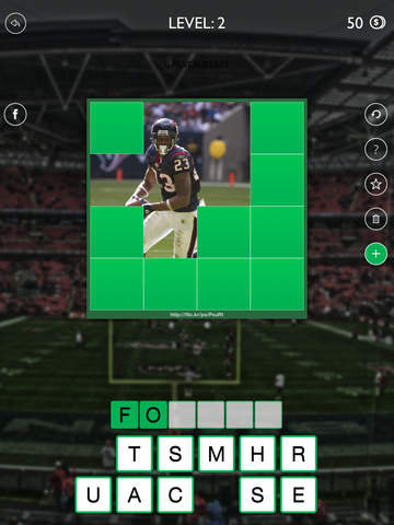 American Football Top Players 2014 Quiz Game - Guess The Pro Football Stars (NFL edition) screenshot 8