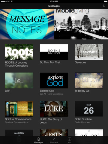 ONEchapel App screenshot 4
