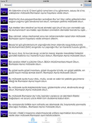 Ramazan-ı Şerif Kutlama Mesajları ve Duvarkağıtları screenshot 7