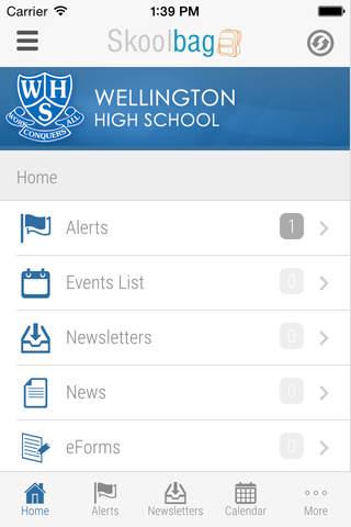 Wellington High School - náhled