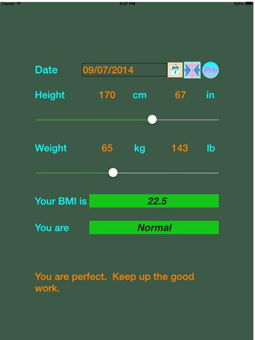 BMI Explorer screenshot #2