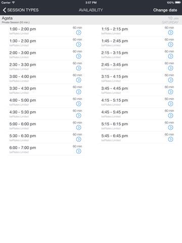 bePilates screenshot 6