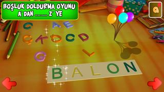 Eğlenceli Harfler ABC - 3 Boyutlu çocuk oyunu screenshot 3