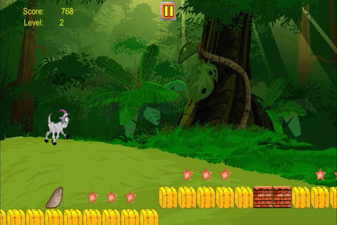 A  Crazy Jumping Goat - A Barn Animal Hopping Game - náhled