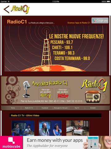 Radio C1 Abruzzo screenshot 7