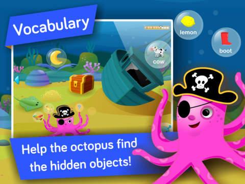 Kids Vocabulary, Grammar & Language learning games screenshot #2