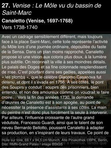 CANALETTO, Rome – Londres – Venise. Le triomphe de la lumière HD screenshot 9