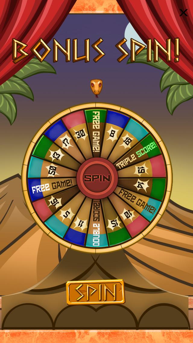 `Lucky Pharaoh Egypt Gold Treasure Temple Casino Slots Free screenshot 3