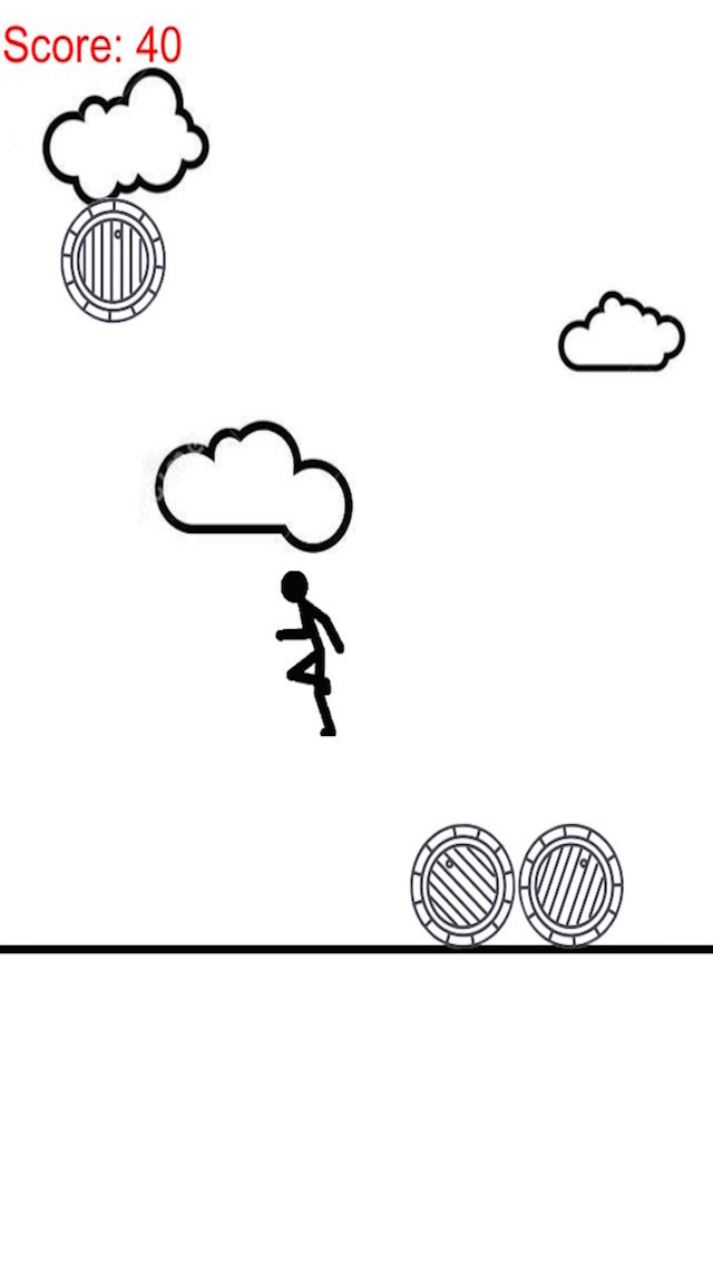 A Stickman On Paper - Raindrop Of Barrel screenshot 1