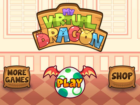 My Virtual Dragon - Pocket Pet Monster with Mini Games for Kids screenshot #5