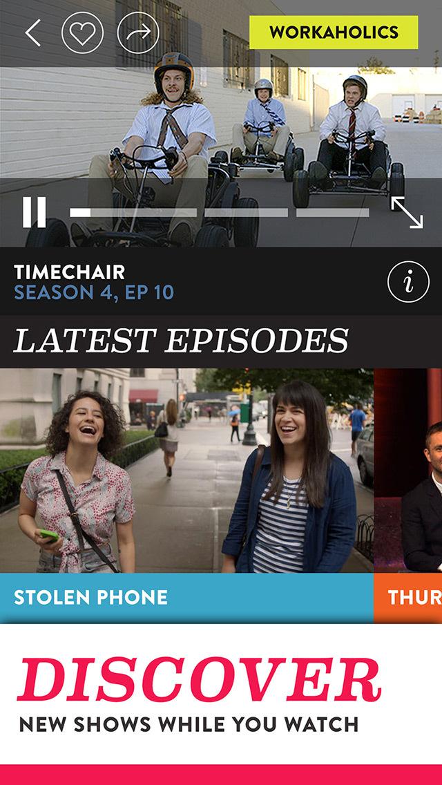 Comedy Central screenshot 2