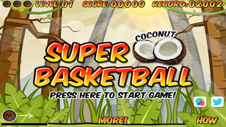 Super Coconut Basketball Free screenshot 1