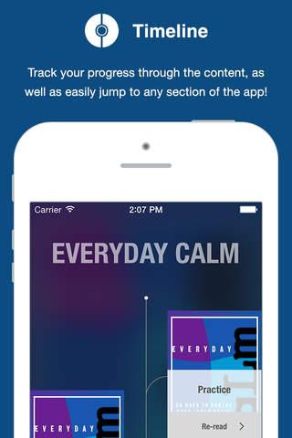 Everyday Calm Card Deck - náhled