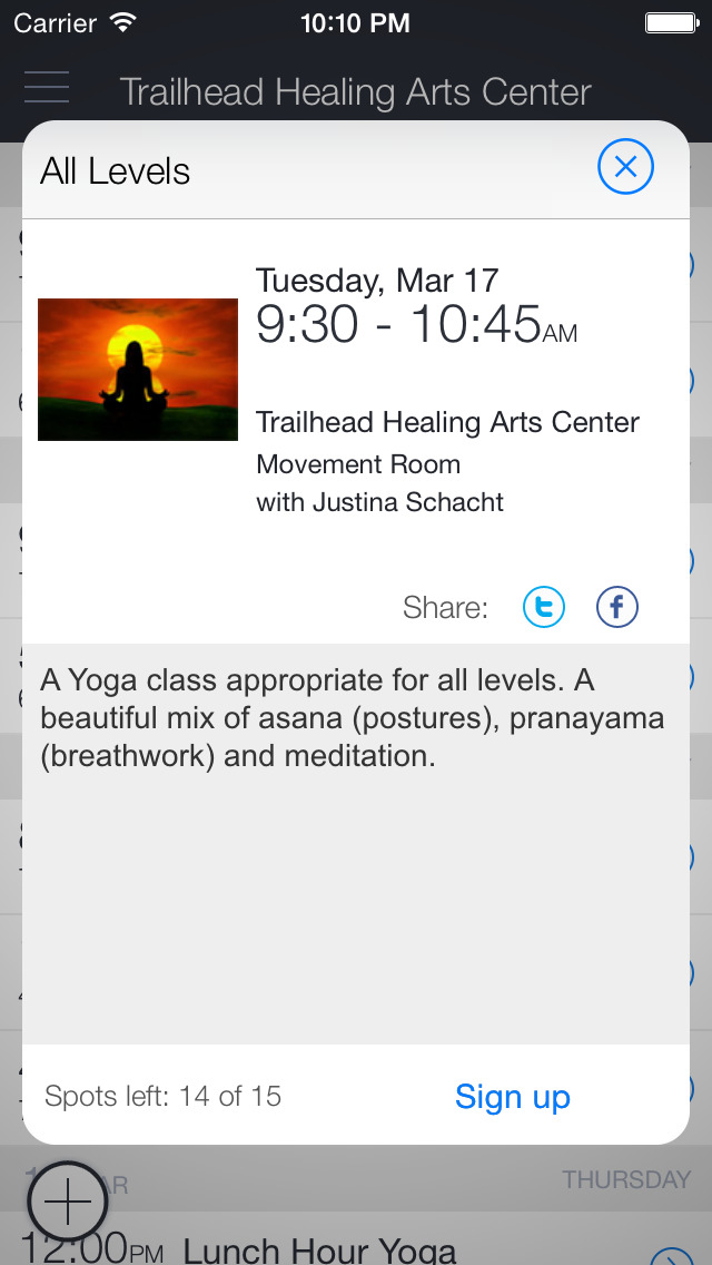 Trailhead Healing Arts Center screenshot 2
