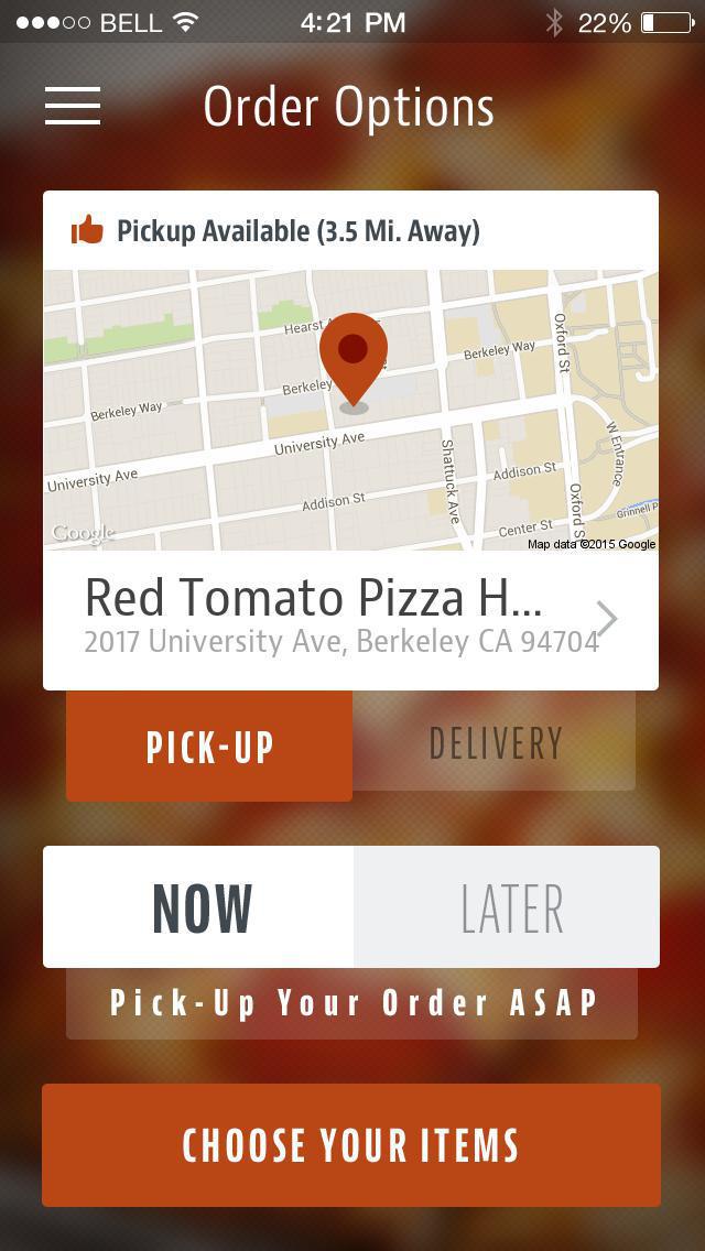 Red Tomato Pizza House screenshot 2