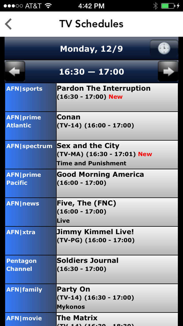 AFN Pacific screenshot 4