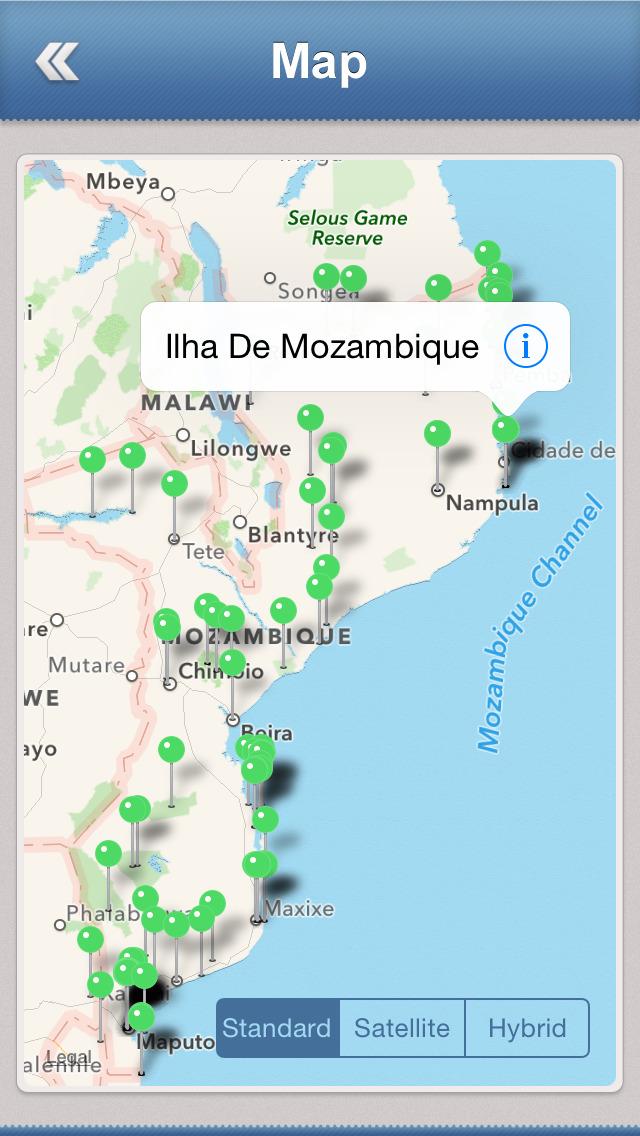 Mozambique Essential Travel Guide screenshot 4