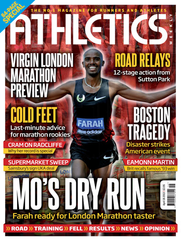 Athletics Weekly Magazine screenshot 5