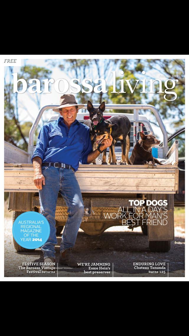 Barossa Living Magazine screenshot 1