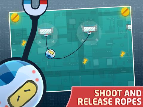 RopeBot - Tiny Robot Adventure screenshot #3