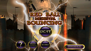 Red Ball Medieval Bouncing PRO : Avoid Spikes screenshot 5