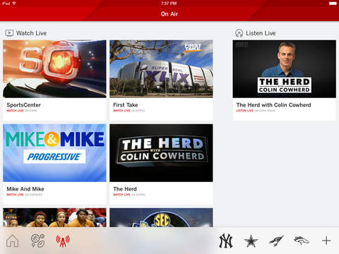 ESPN: Live Sports & Scores screenshot 8